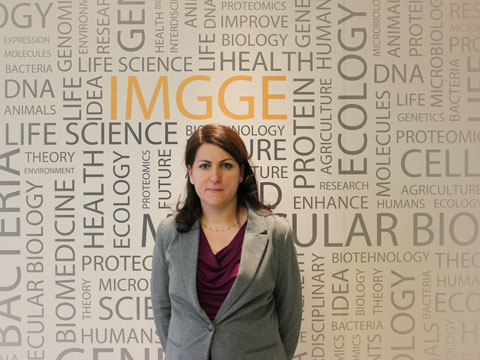 Jelena Samardzic - head of laboratory